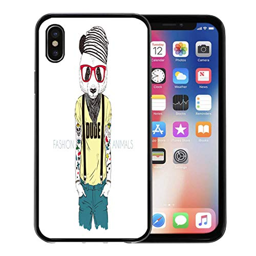 Semtomn Phone Case for Apple iPhone Xs case,Bear