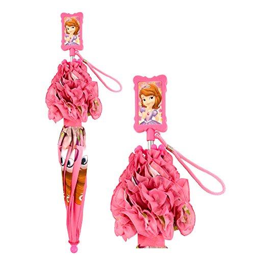 Disney Girls' Little Sofia The First Character Rainwear Umbrella, Pink, Age 3-7 by Disney (Image #6)