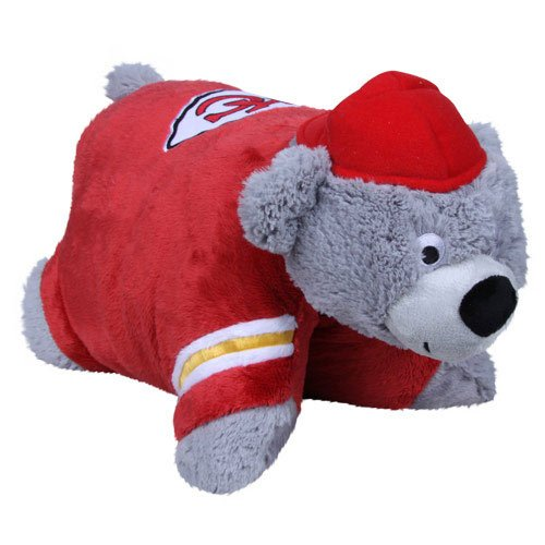 (Fabrique Innovations NFL Pillow Pet , Kansas City Chiefs, Large )