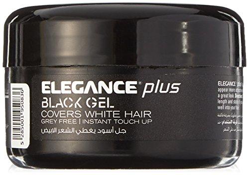 Black Elegance Collection (Elegance Plus Gel and Color, Black, 3.5 Ounce)