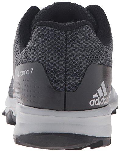 adidas Performance Herren Duramo 7 M Trail Runner Schwarz / Metallic / Silber / Light Onix