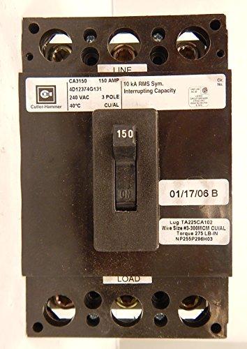 Cutler Hammer Ca3150 Breaker Ca3150 by Cutler & Hammer