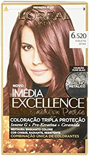 Coloração Imédia Excellence, L'Oréal Paris, Violeta Chic, L'Oré