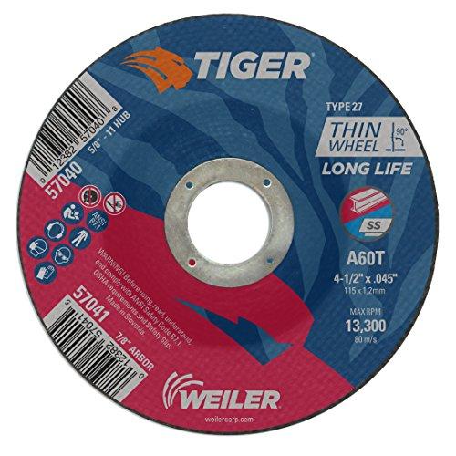 - Weiler 57040 4-1/2
