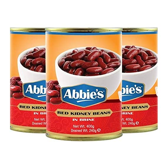 Abbie's Red Kidney Beans, 400g (Set of 3)