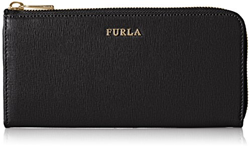Furla Women's Babylon XL Zip Around Wallet, Onyx, One Size (Accessories Furla Women)