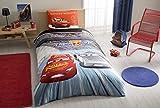 kids car wash set - %100 Cotton Disney Car's 3 Kid's Duvet/Quilt Cover Set Single / Twin Size Kids Bedding