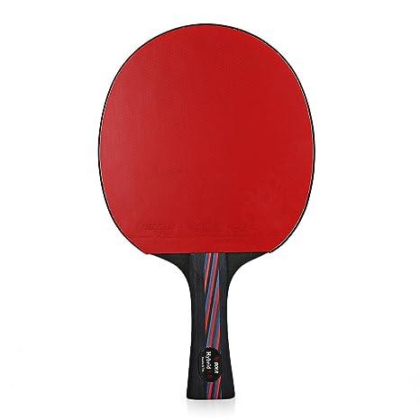 Ligero Raqueta de tenis de mesa raqueta de Ping Pong Paddle ...