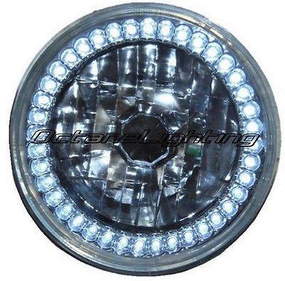 5 3/4 White Led Halo Halogen Light Bulb Headlight in US - 9