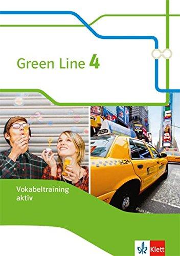 Green Line 4: Vokabeltraining aktiv, Arbeitsheft Klasse 8 (Green Line. Bundesausgabe ab 2014) (Englisch) Broschüre – 1. Januar 2018 Harald Weisshaar Klett 3128343349 Schulbücher