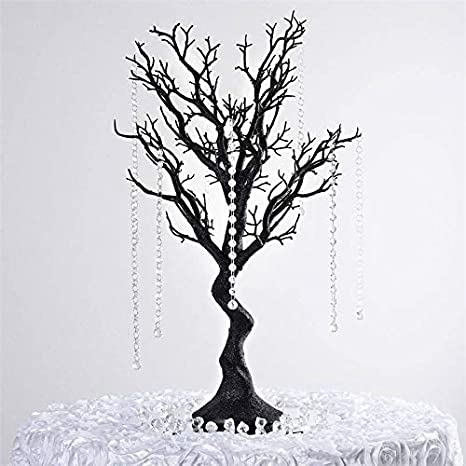 Table Centrepiece 30 inch White Artificial Manzanita Wishing Tree Wedding