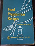 img - for FOOD PREPARATION RECIPES book / textbook / text book