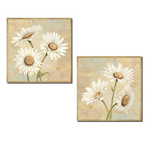 Beautiful Blooming Daisy Flower Set; Floral Decor by - Daisies Poster