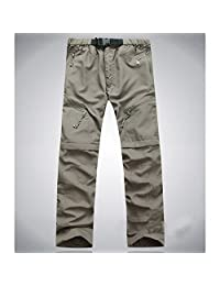 EDTara Hiking Pants Sports Trousers Detachable Quick Dry Convertible Pant for Outdoor Camping Trekking Men Women