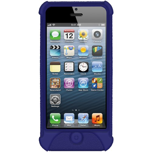 Amzer Schutzhülle für iPhone 5, Silikon, Blau
