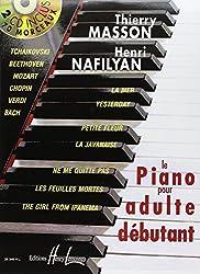 Piano pour adulte débutant avec 2 CD