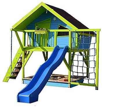 Bevorzugt TF-Solutions Bauanleitung Spielhaus OLE, Stelzenhaus, Baumhaus WY21