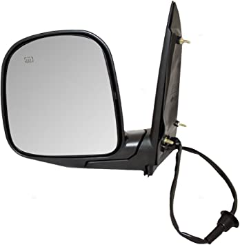 Driver and Passenger Power Side View Sail Mounted Mirrors Heated Replacement for Chevrolet GMC Van 15768768 15768771