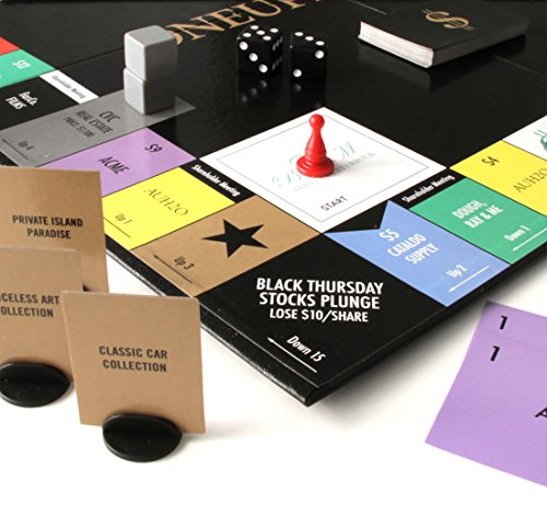 (ONEUPMANSHIP – An All-Original Real-Deal Strategy Board Game for the 21st Century – A Wicked/Smart Capitalist Adventure. )