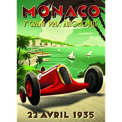 Monaco Grand Prix Puzzle, 1000-Piece: Toys & Games