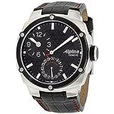Alpina Alpiner Black Dial Leather Strap Men's Watch AL950LBBB4AE6A