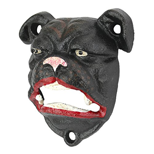 (Design Toscano English Bulldog Bottle Opener)