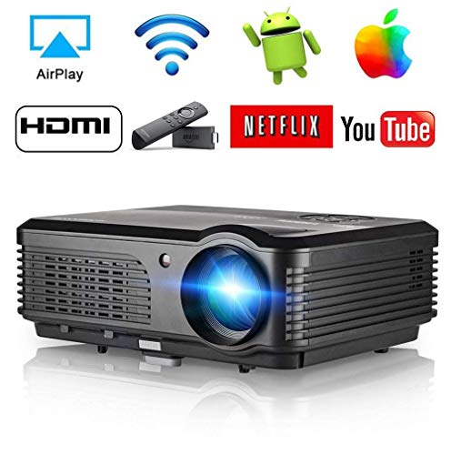 Android Wireless Projector, LCD LED Video Projectors 200