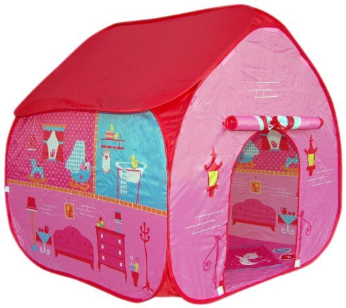 Pop It Up Childrens Pop Up Play Tent for Girls (Pink) by Pop It Up