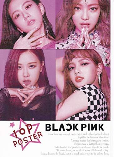 BLACKPINKブラックピンク写真付【A4ポスター10枚】韓国ジスジェニーリサロゼ