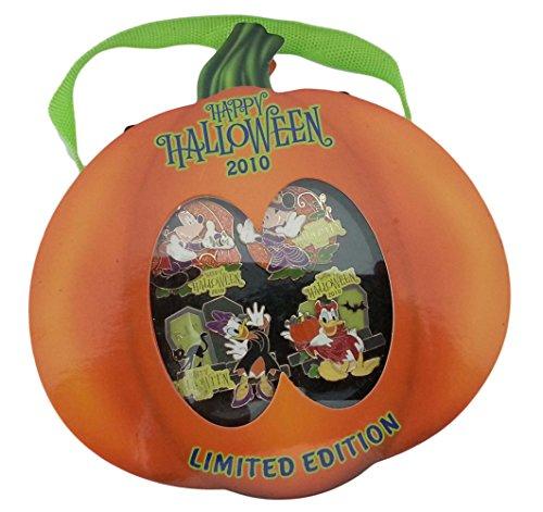 Disney Pin - Halloween 2010 - Limited Edtion Set