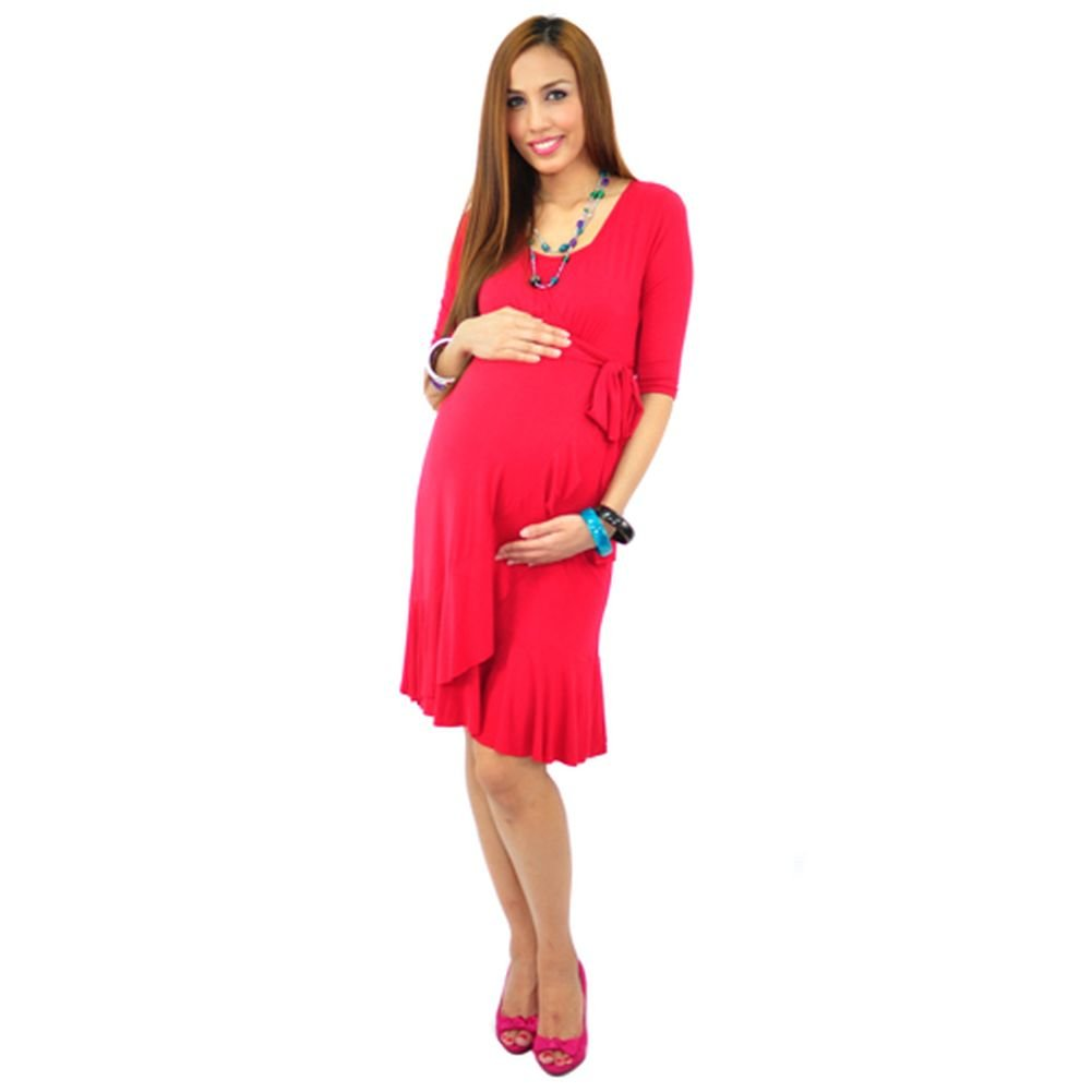 low price sale best sneakers store Annee Matthew Womens Crimson Boutique Evita Maternity Dress ...