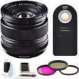 Fujifilm XF 14mm f/2.8 R Lens Ultra Wide-Angle Lens w/Focus Accesory Bundle