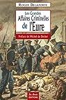 Les grandes affaires criminelles de l'Eure par Delaporte