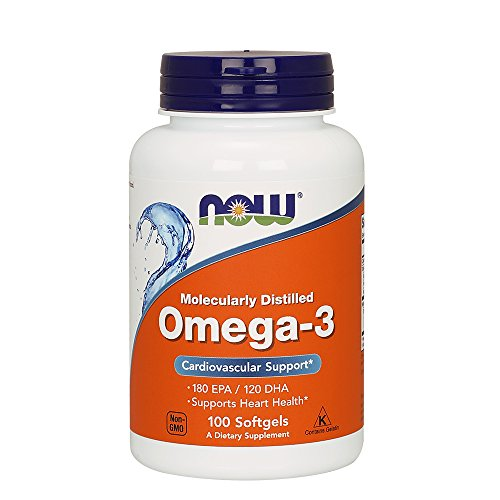 NOW Omega 3 1000 100 Softgels