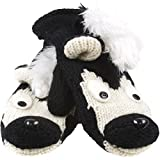 Old Glory - Unisex-adult Sarge The Skunk Knit Mittens Black