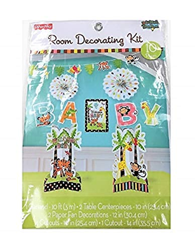 Amscan Fisher Price Baby Decorating Kit]()