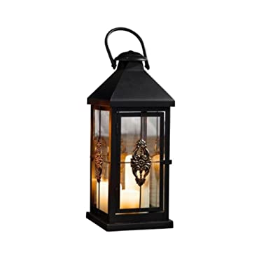 Medium 19 in. Metal European-style Hanging Candle Lantern Product