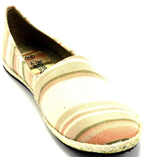 Multie Van Vrouwen Schoenen Met Lage Laag Sneakers Van Lage Sneakers Canvas Op De Zomer Strand Platte Mode Schoenen B * 1618 Roze