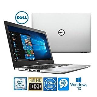 """Dell Inspiron 15 Intel i7-8550U 8GB 1TB HDD/128GB SSD 15.6"""" Full HD LED Laptop (Renewed)"""