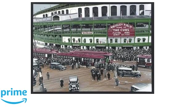 Home of the Cubs Wrigley Field Great Sports Bar Decor 11x14 Unframed Print