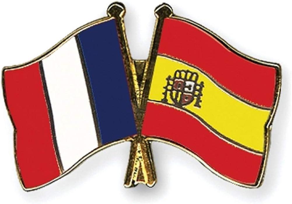 Yantec Pins Freundschaftspin – Francia España Pin Broche doble ...
