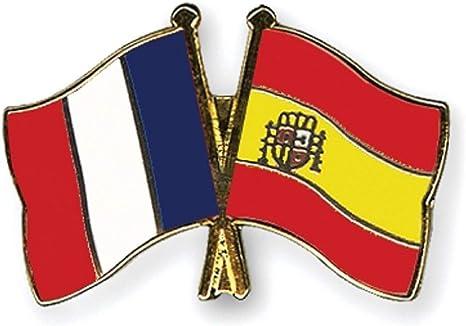 Yantec Pins Freundschaftspin – Francia España Pin Broche doble bandera Pin: Amazon.es: Ropa y accesorios