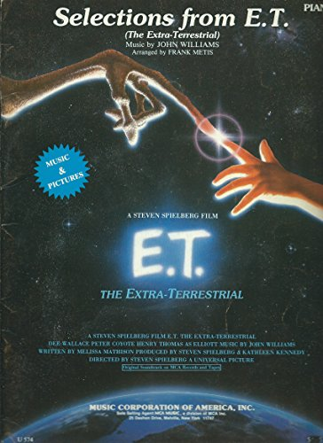 Selections From E.T. (The Extra-Terrestrial) (Piano)