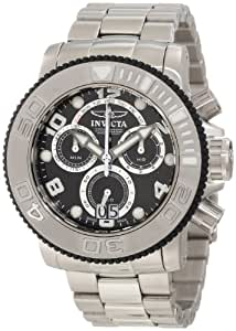 Invicta Men's 11160 Sea Hunter Pro Diver Chronograph Black Dial Watch