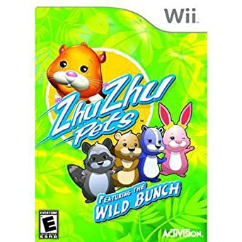 Amazon Com Zhu Zhu Pets Featuring The Wild Bunch Limited Edition Video Games