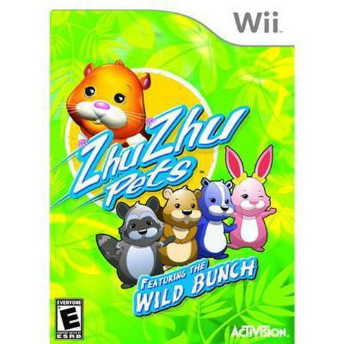 New Activision Blizzard Zhu Zhu Pets Featuring The Wild Bunch Puzzle Game Standard 1 User Wii (Zhu Zhu Pets Wii)
