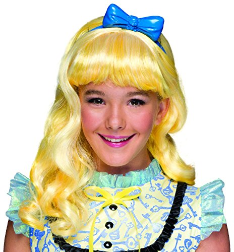 Rubie's Costume Ever After High Blondie Lockes Child Wig (Goldilocks Costumes For Kids)