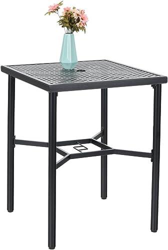 PHI VILLA 28in Patio Height Bistro Square Table