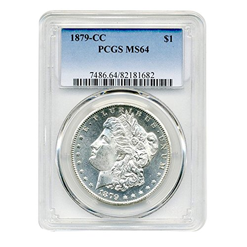 1879 CC Morgan Dollar $1 MS-64 PCGS