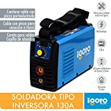 Igoto Pump MINI-130 Soldadora Inverter 130A, 110-220V.